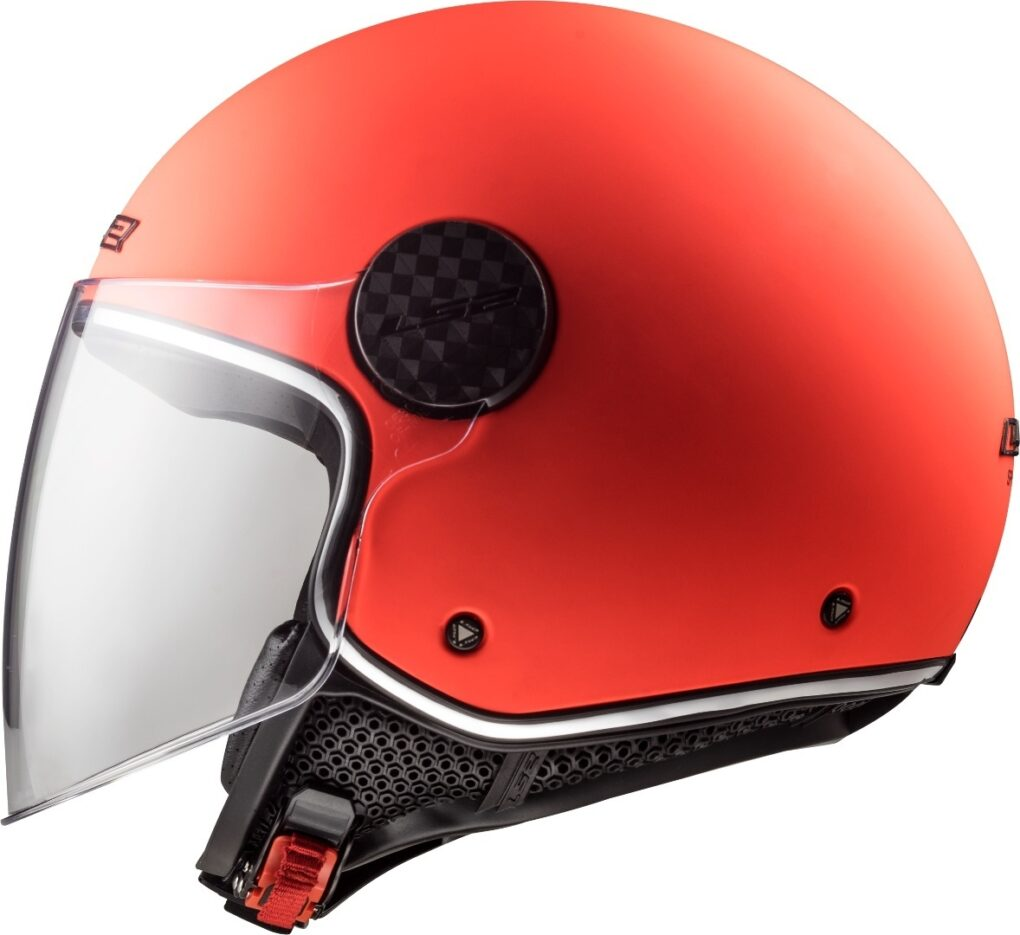 LS2 OF558 Sphere Lux Casco Jet Naranja XS