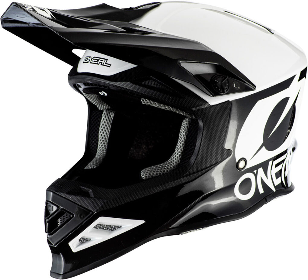 Oneal 8Series 2T Casco de Motocross Negro XL