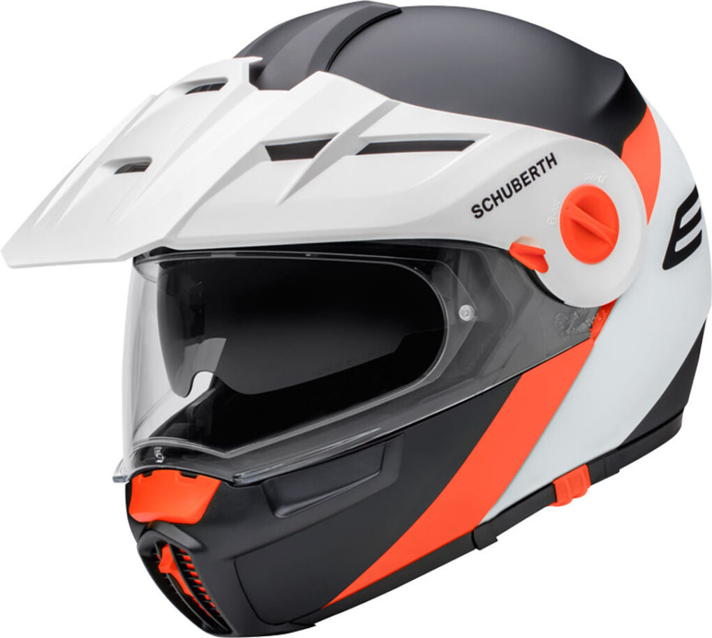 Schuberth E1 Gravity Casco Naranja S
