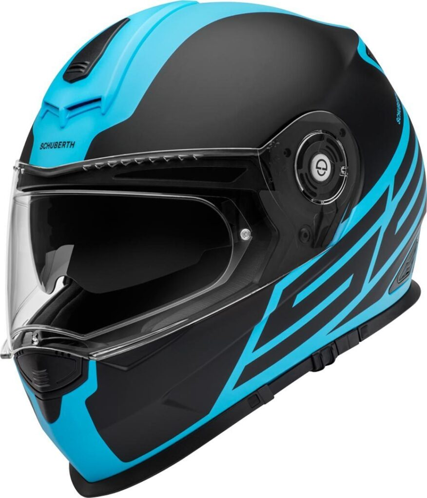 Schuberth S2 Sport Traction Casco Azul XS
