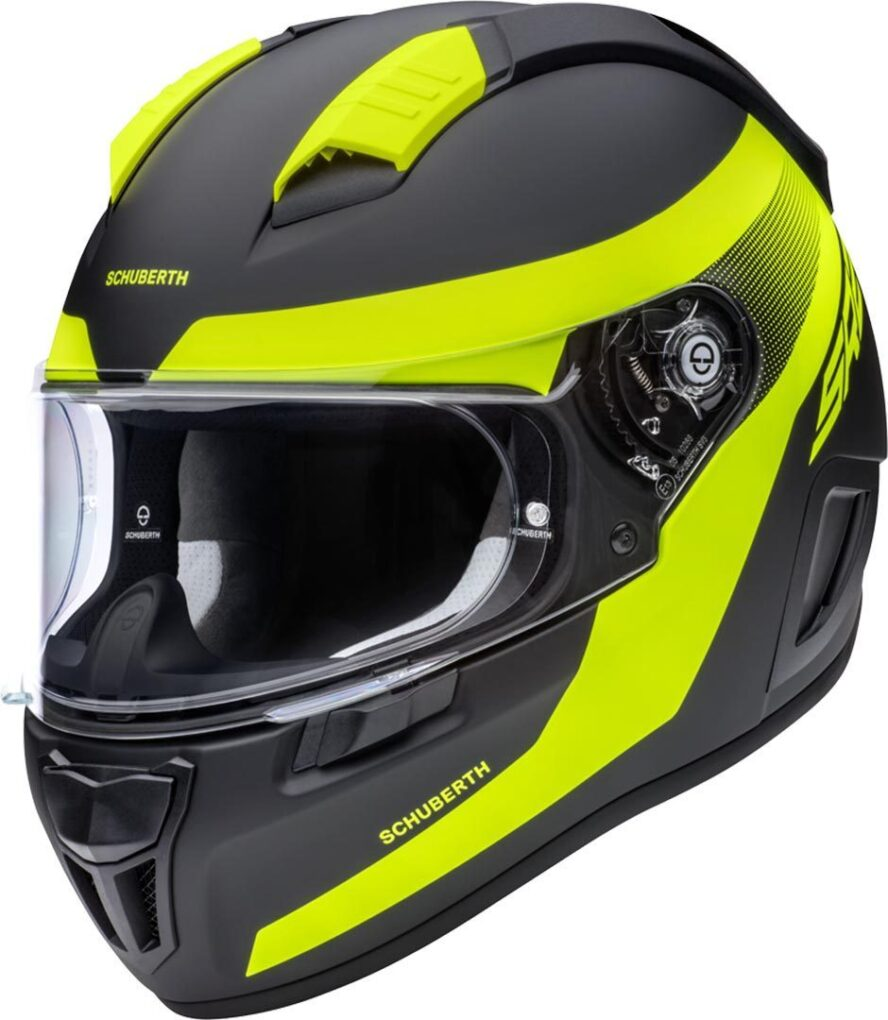 Schuberth SR2 Resonance Casco Amarillo XS