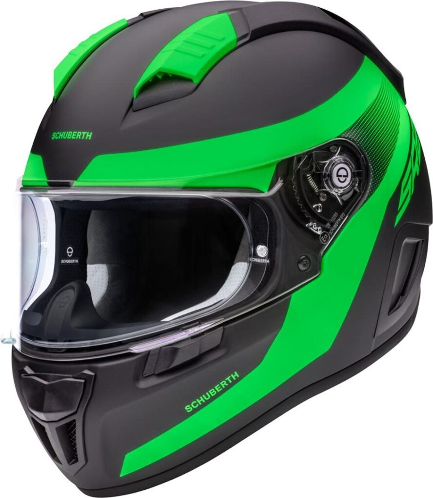 Schuberth SR2 Resonance Casco Verde XS